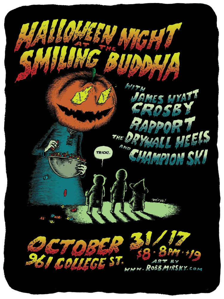 Halloween Night at the Smiling Buddha