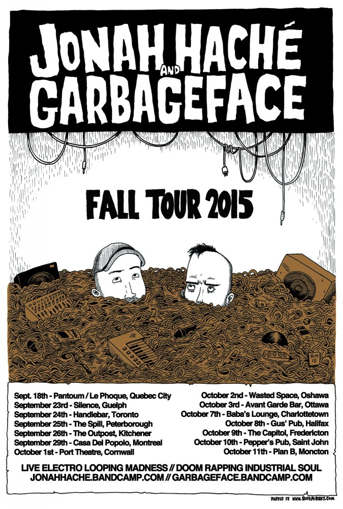 Jonah Hache and Garbageface Tour 2015